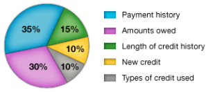 FICO Credit Score Ingredients