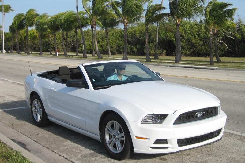 Key West getaways are more fun in a convertable