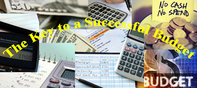 The Key to a Successful Budget