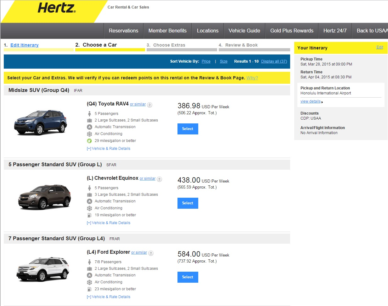 Aaa Texas Hertz Car Rental
