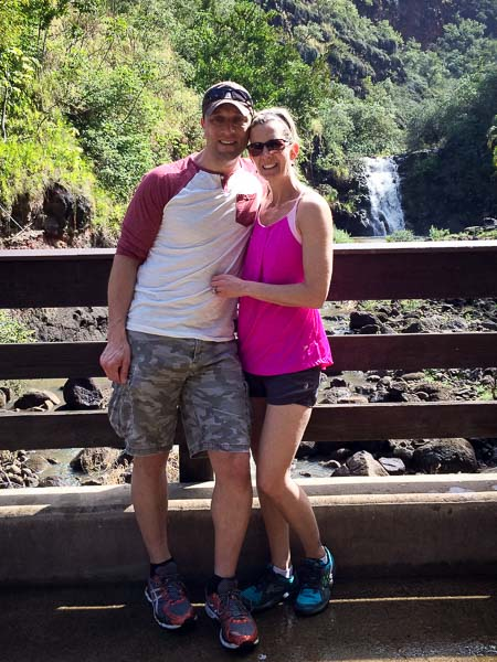 Hanging With My Favorite Travel Buddy at Waimea Falls